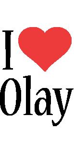 Olay i-love logo