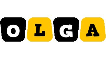 Olga boots logo