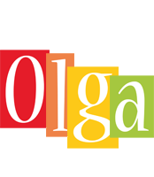 Olga colors logo