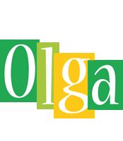 Olga lemonade logo