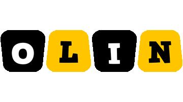 Olin boots logo
