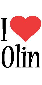 Olin i-love logo