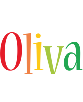 Oliva birthday logo