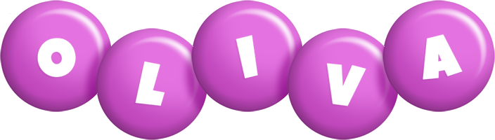 Oliva candy-purple logo