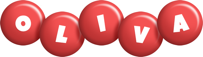 Oliva candy-red logo