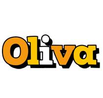 Oliva cartoon logo
