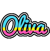 Oliva circus logo