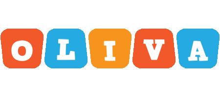 Oliva comics logo