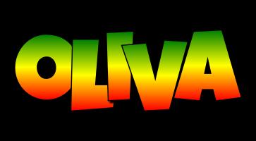 Oliva mango logo