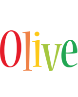 Olive birthday logo