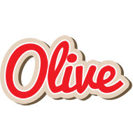Olive chocolate logo