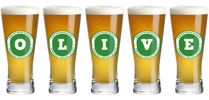 Olive lager logo