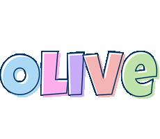 Olive pastel logo
