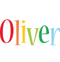 Oliver birthday logo
