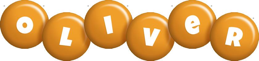 Oliver candy-orange logo