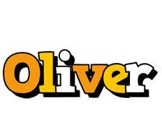 Oliver cartoon logo