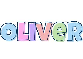 Oliver pastel logo