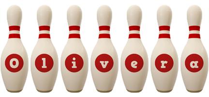 Olivera bowling-pin logo