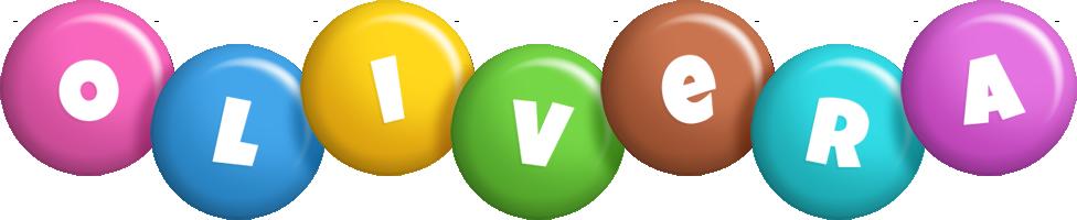 Olivera candy logo