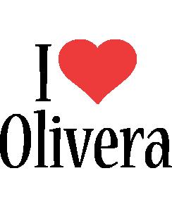 Olivera i-love logo