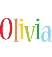 Olivia birthday logo