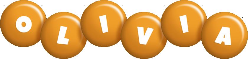 Olivia candy-orange logo