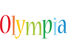 Olympia birthday logo