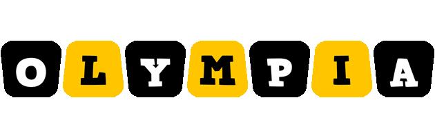 Olympia boots logo