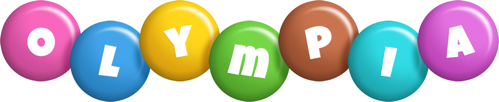 Olympia candy logo