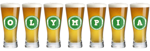 Olympia lager logo