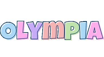 Olympia pastel logo