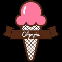 Olympia premium logo