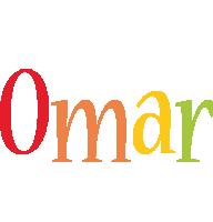 Omar birthday logo