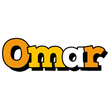 Omar cartoon logo
