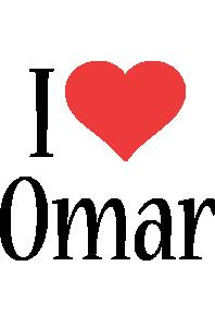Omar i-love logo