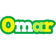 Omar soccer logo