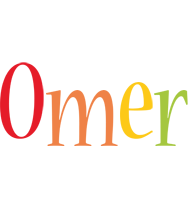 Omer birthday logo