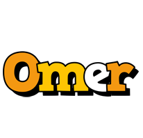 Omer cartoon logo