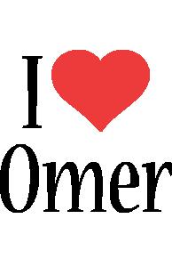 Omer i-love logo