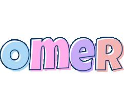 Omer pastel logo