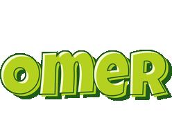 Omer summer logo