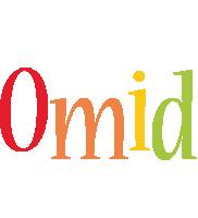 Omid birthday logo