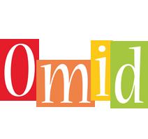 Omid colors logo