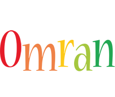 Omran birthday logo