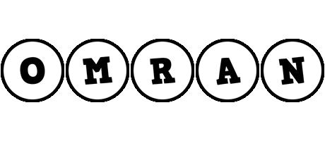 Omran handy logo