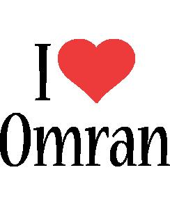 Omran i-love logo