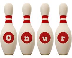 Onur bowling-pin logo