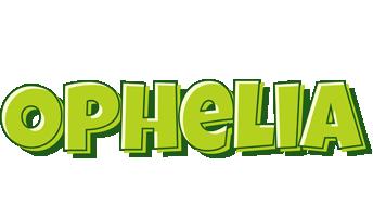 Ophelia summer logo