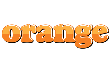 ORANGE logo effect. Colorful text effects in various flavors. Customize your own text here: https://www.textGiraffe.com/logos/orange/