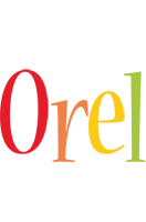Orel birthday logo
